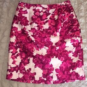 Kate Spade Skirt the Rules Berry Moody Pencil Sz 8